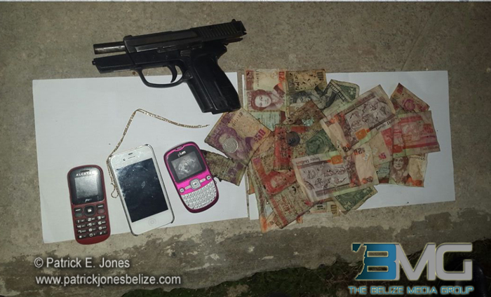 Robbery in Belize City