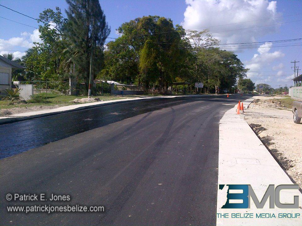Road infrastructure work
