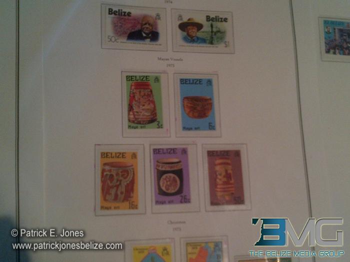Stamps exhibit