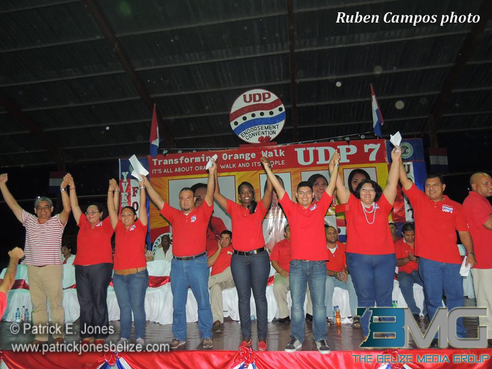 UDP Convention, Orange Walk
