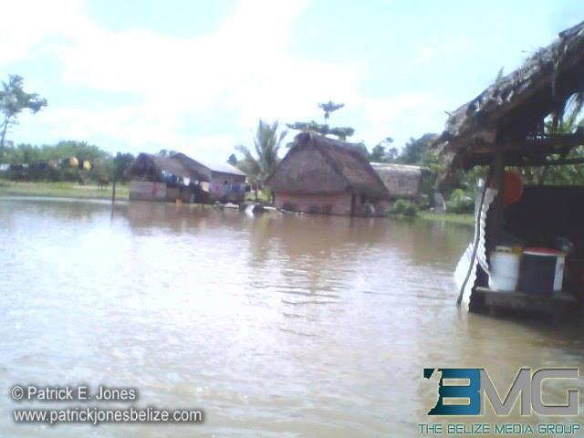 Flooding in Golden Stream