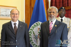 New Costa Rican ambassador to Belize