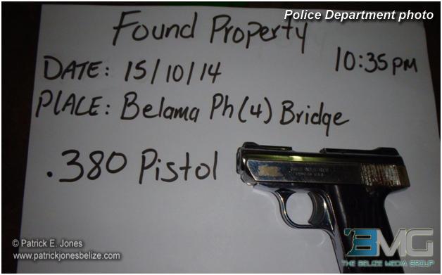 Pistol found