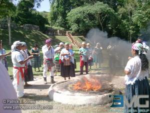 Maya sacred ritual
