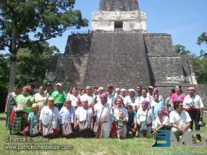 Maya traditional ceremony