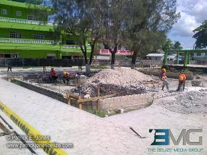 Orange Walk park rehabilitation