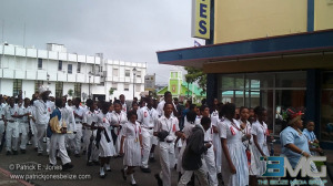 Red-Ribbon Parade for Wesley College