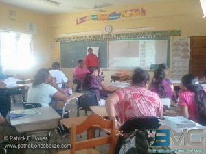 Teachers attend training