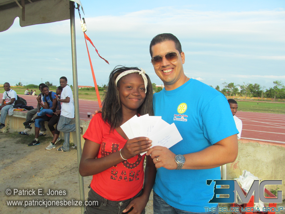 Athletic performer wins prize