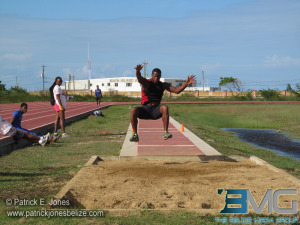 Long jump contest