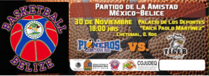 Belize versus Mexico (Friendly basketball)