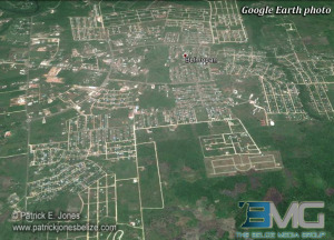 Belmopan (Courtesy Google Earth)