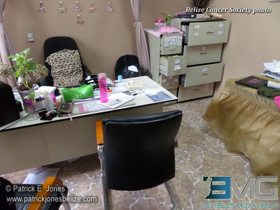 Burglary at Belize Cancer Society