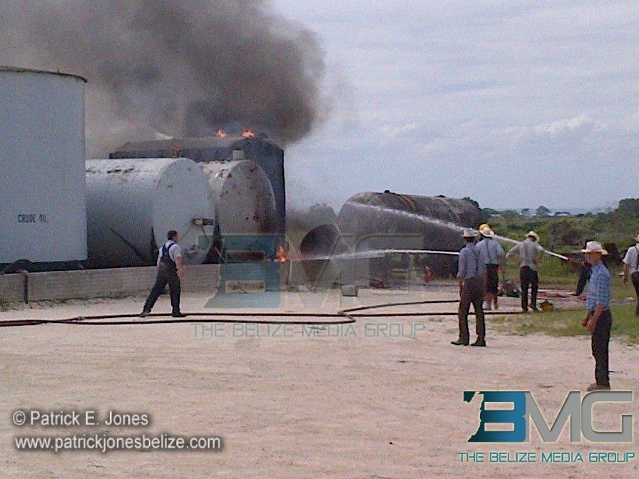 Fire in Shipyard