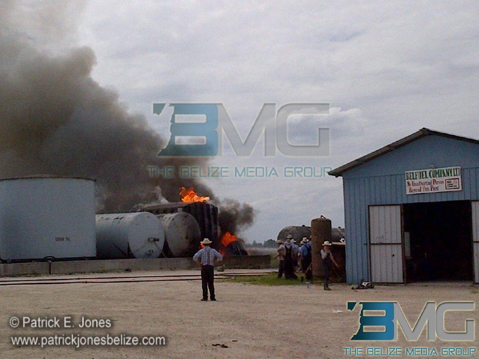 Fire in Shipyard village