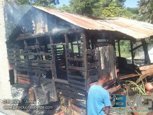 Fire destroys Corozal house