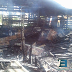 House gutted by fire in Corozal