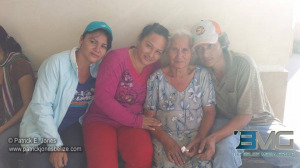 Dona Tana reunited with her family