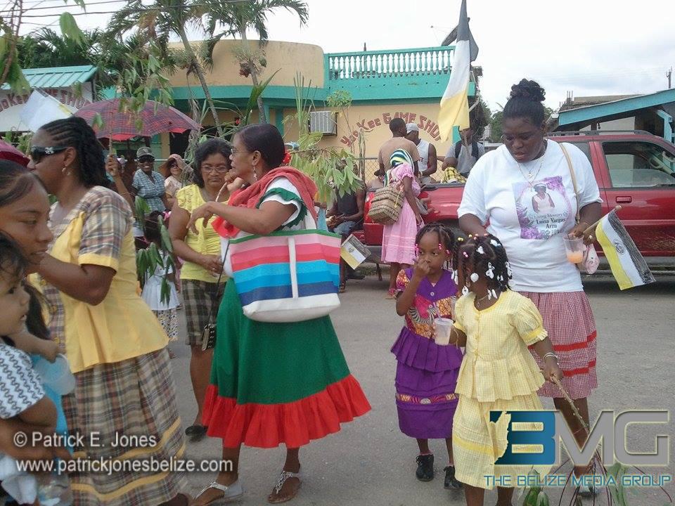 Preschool Garifuna parade