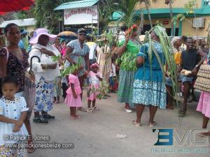 Garifuna parade, Punta Gorda