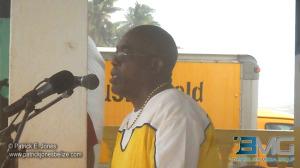 Gilbert Swaso (Mayor of Dangriga)