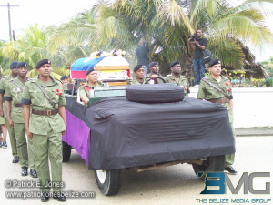 Paul Nabor's funeral