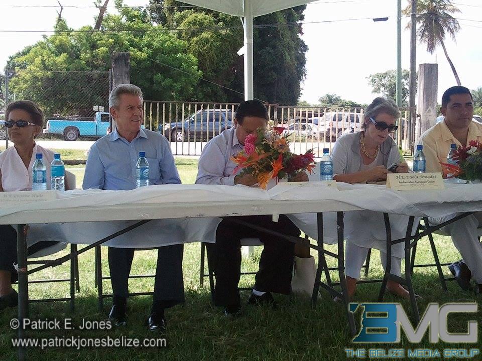 Inauguration of Corozal road rehabilitation project