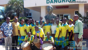 TV Ramos bust arrives in Dangriga