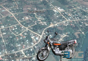 Unlicensed driver in Santa Familia village