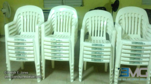 Donated chair