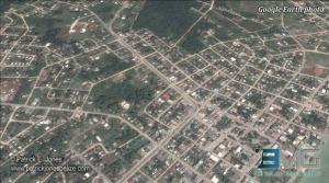 Corozal town (Courtesy Google Earth)