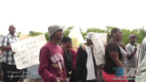 Port Loyola demonstration