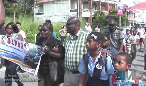 Disability parade, Belize City