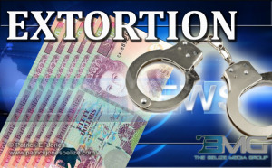 Extortion charge