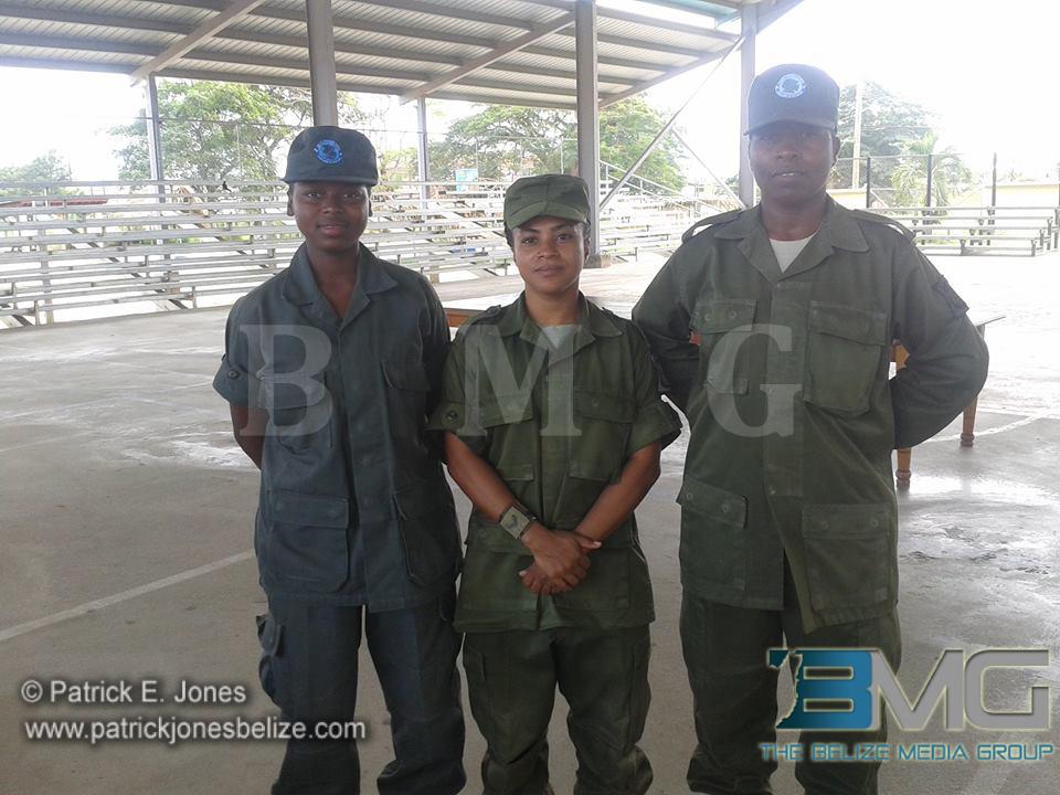 BDF volunteers
