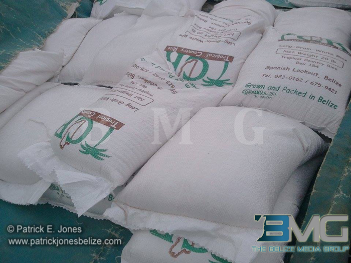 Rice for distribution