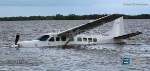 Tropic Air plane crash lands