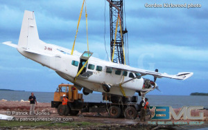 Plane lifted from the Caribbean Sea