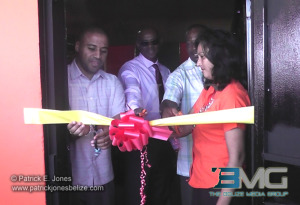 Computer lab opening