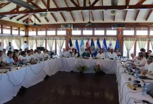 SICA summit, Placencia