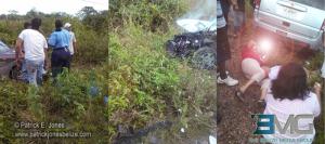 Traffic accident in Belmopan