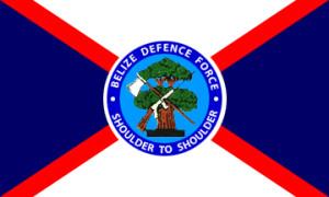 Belize Defence Force Flag