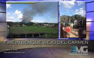 Fire, Benque Viejo del Carmen