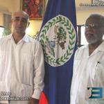 Omar Figueroa & Sir Colville Young
