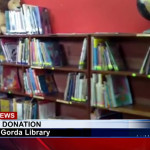P.G. Public Library gets donation of books