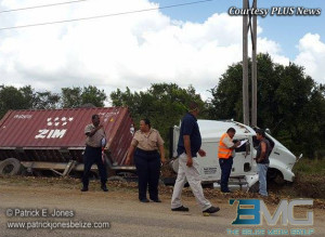 Traffic accident, Jaguar Paw junction