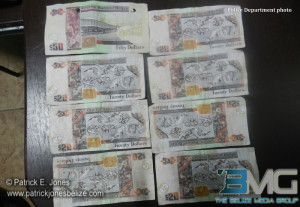 Counterfeit currency notes