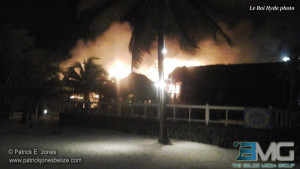 Fire at Exotic Resort early this morning