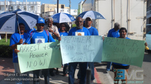 Protesters hound Elvin Penner