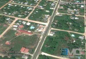 Roaring Creek village (Courtesy Google Earth)